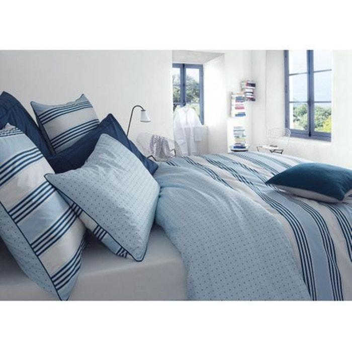 housse de couette jetset notte jalla la redoute. Black Bedroom Furniture Sets. Home Design Ideas