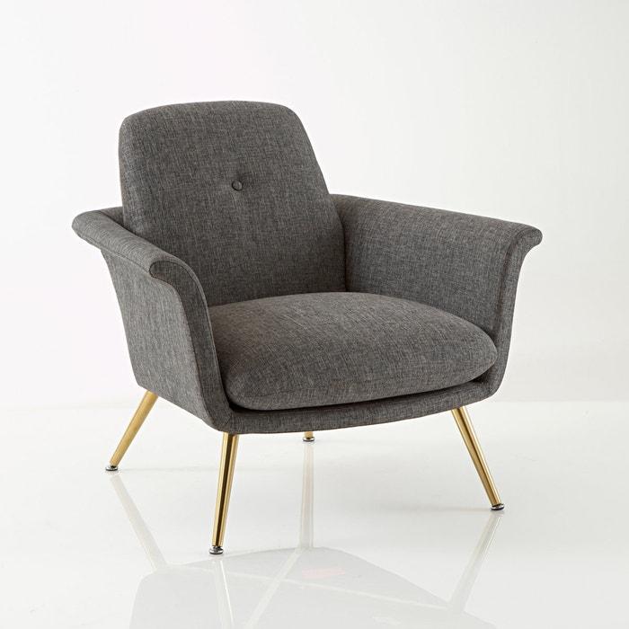 fauteuil vintage fr do la redoute interieurs gris la redoute. Black Bedroom Furniture Sets. Home Design Ideas
