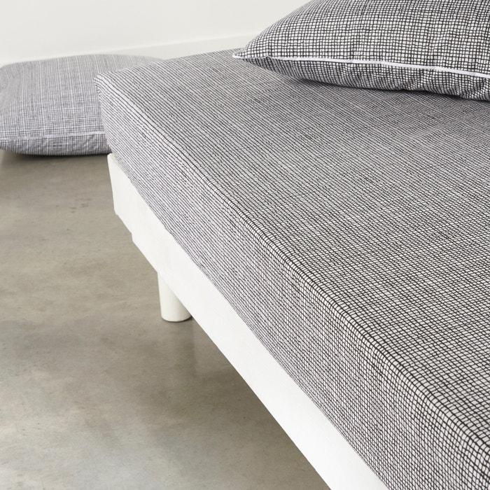 Image Drap-housse, pur coton, Jinties La Redoute Interieurs