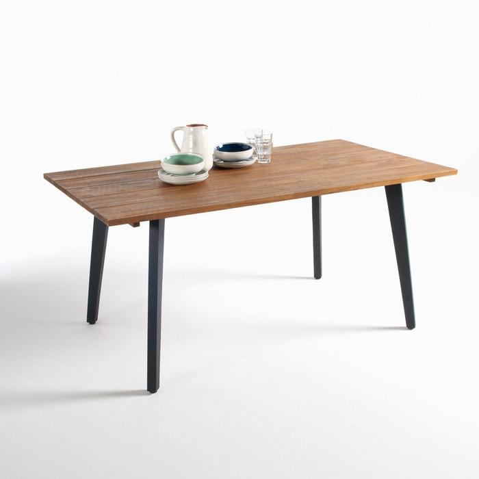 Hiba fsc aacia garden table acacia la redoute - Table hiba la redoute ...