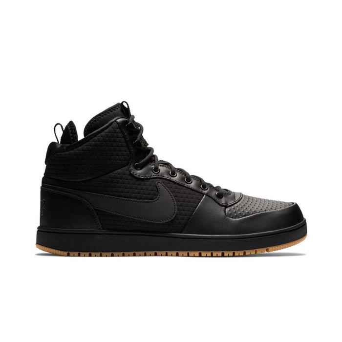 best service 72d94 8f8b9 Baskets montantes ebernon mid winter noir Nike   La Redoute