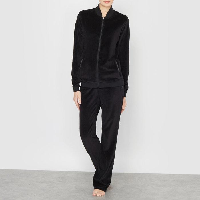 Velour Pyjama Trousers  La Redoute Collections image 0