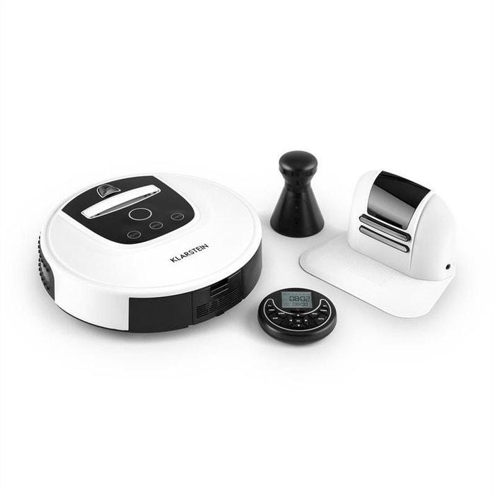Cleanhero Robot aspirateur Automatique Télécommande blanc