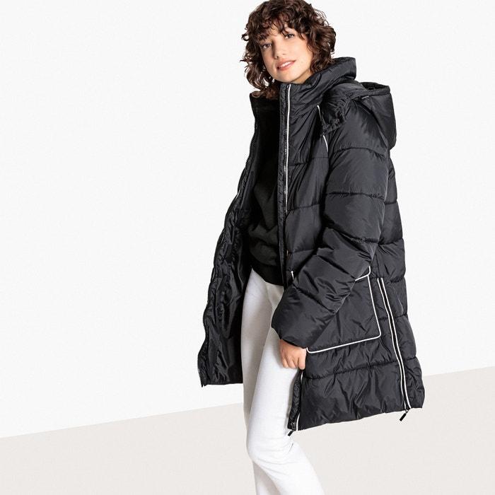 Куртка стеганая удлиненная с контрастными деталями  La Redoute Collections image 0
