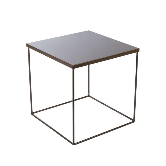 table de chevet kube madura la redoute. Black Bedroom Furniture Sets. Home Design Ideas