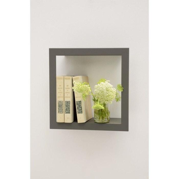 etag re cadre carr bigstick presse citron acier laqu mat gris presse citron la redoute. Black Bedroom Furniture Sets. Home Design Ideas