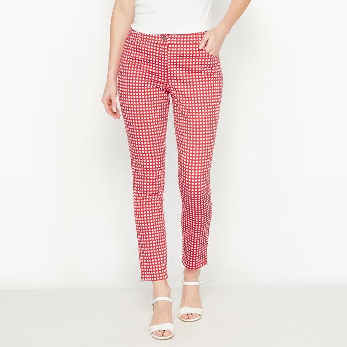 Pantalon 7/8ème, satin de coton stretch  ANNE WEYBURN image 0