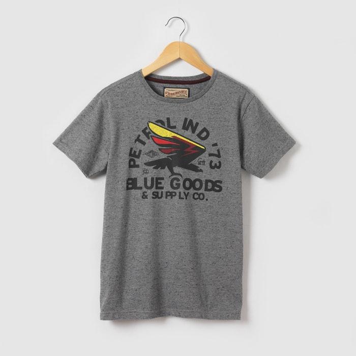 afbeelding Bedrukt T-shirt met korte mouwen, 8 - 16 jr PETROL INDUSTRIES