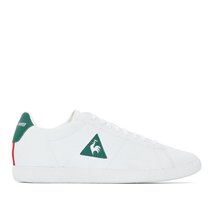 Le Coq Sportif COURTSET S LEA Blanc / Vert 3yogul5