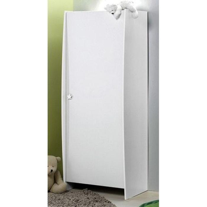 armoire bebe blanc lucie blanc alfred et compagnie la. Black Bedroom Furniture Sets. Home Design Ideas