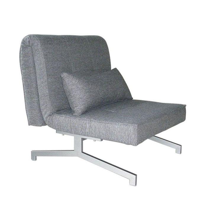 fauteuil convertible bz 1 place marco drawer la redoute. Black Bedroom Furniture Sets. Home Design Ideas