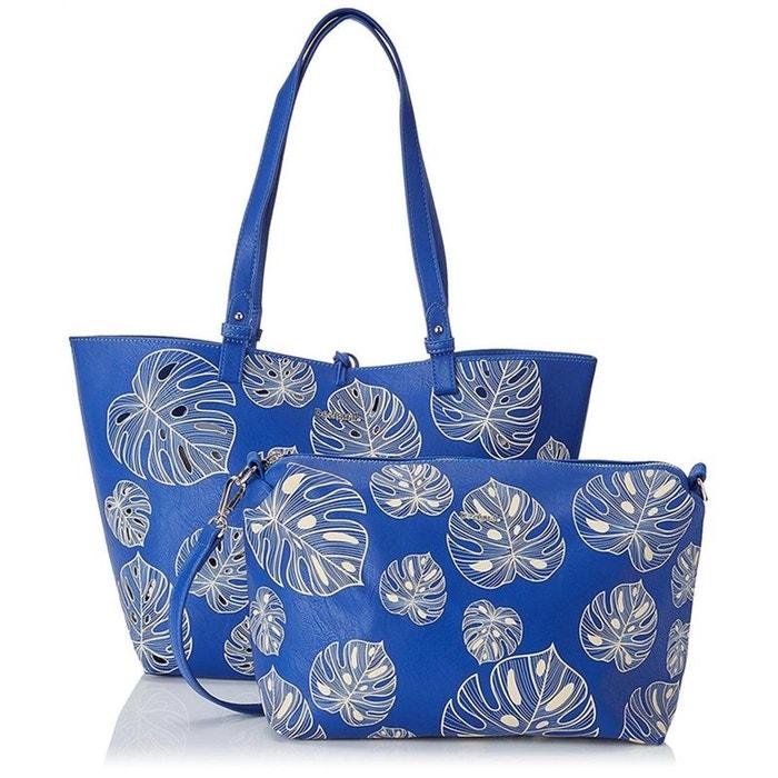 Cabas / sacs shopping synthetique bleu Desigual | La Redoute Acheter Pas Cher Trouver Une Grande OLOhicXtW