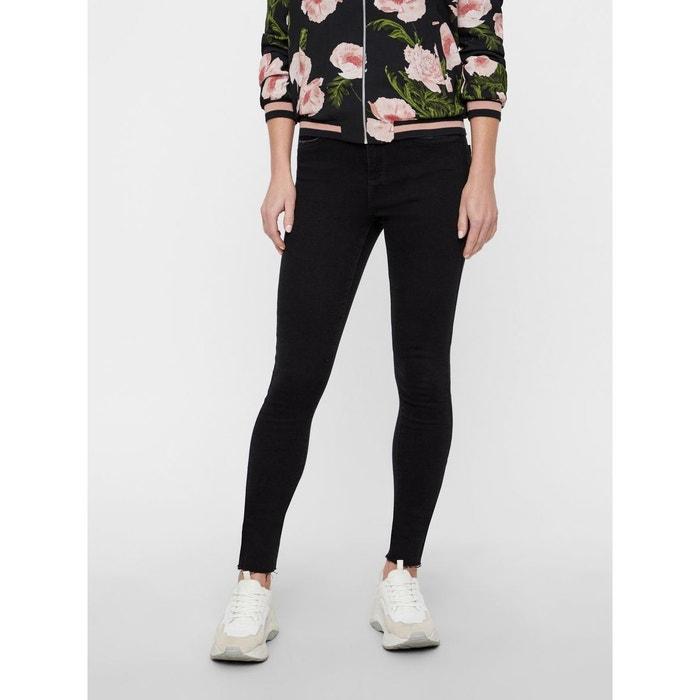 919d03f663 Jean skinny sophia taille haute noir black Vero Moda | La Redoute