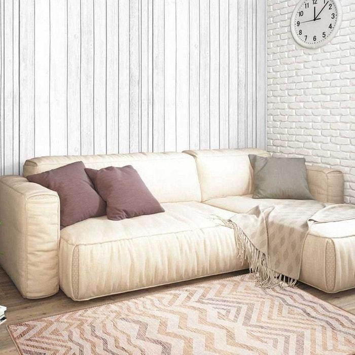 Tapis de salon moderne design vt kizilderi - viscose beige Un Amour ...