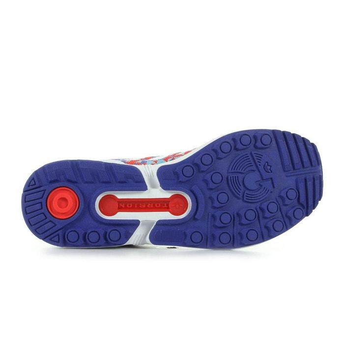 Zx flux rouge, violet et blanc Adidas