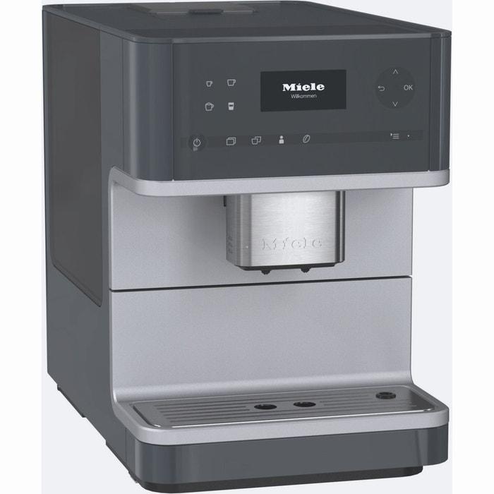 machine caf grains tout automatique cm6110 gr gris miele la redoute. Black Bedroom Furniture Sets. Home Design Ideas