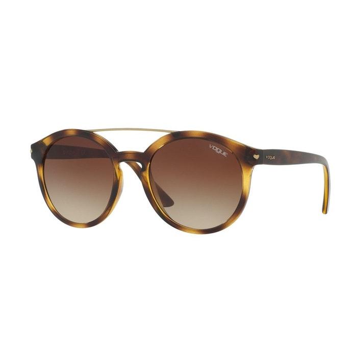 9929dd24b8 Lunettes de soleil vo5133s marron foncé Vogue | La Redoute