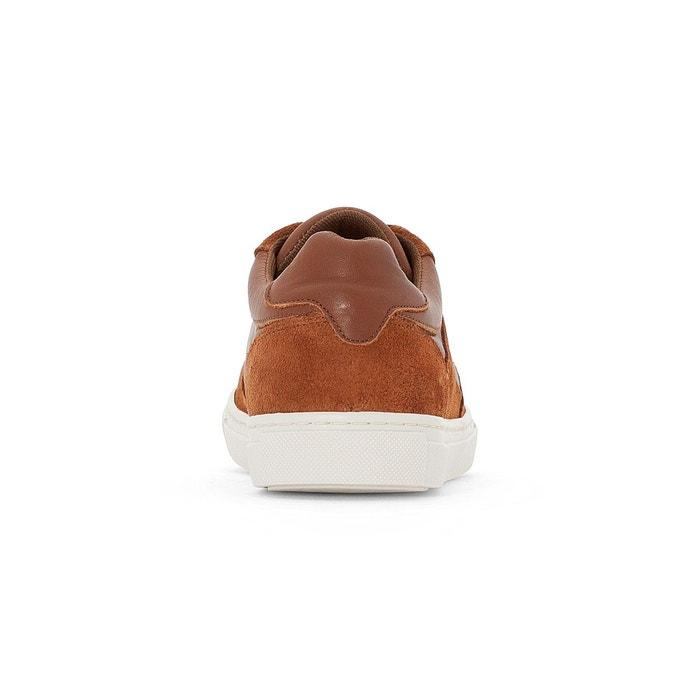 Baskets cuir perris oxford cognac Levis
