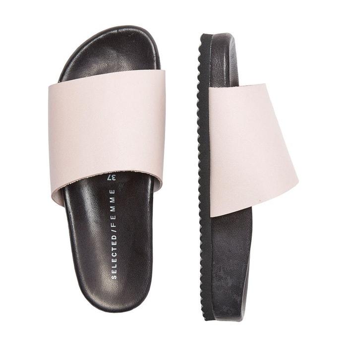 Sandales cuir - Selected Femme