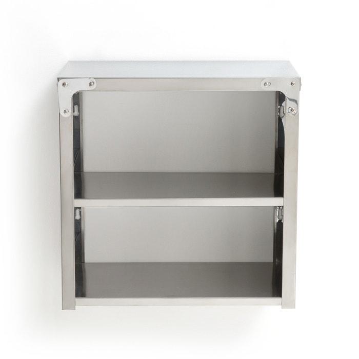 Chrome wall shelf , stainless steel, La Redoute Interieurs | La Redoute
