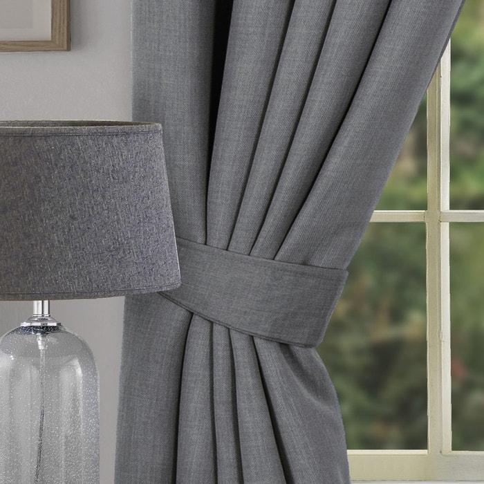 Hugo Woven Curtain Tie Backs Pair