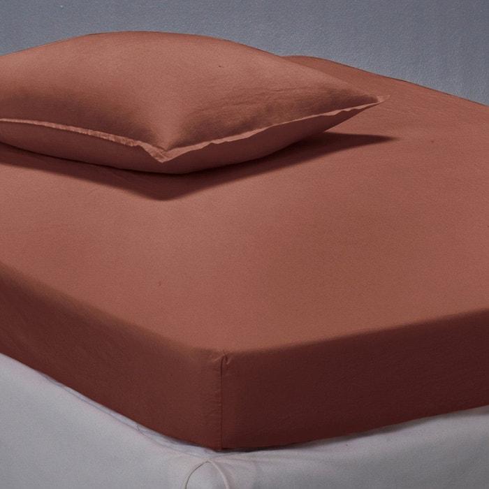 drap housse en pur lin lav la redoute interieurs la redoute. Black Bedroom Furniture Sets. Home Design Ideas