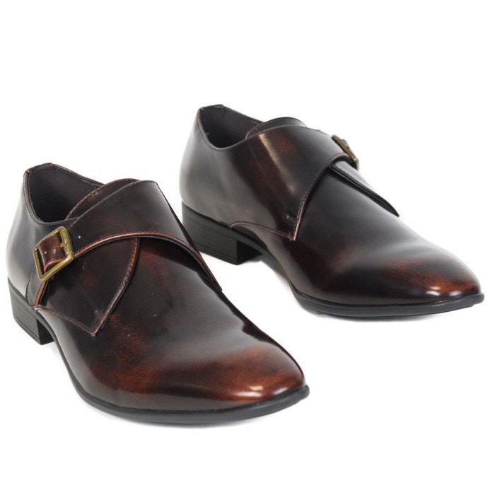 Chaussures elo589 marron Kebello