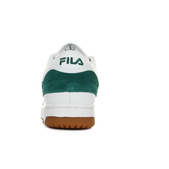 Baskets homme t1 mid shady glade blanc/vert Fila