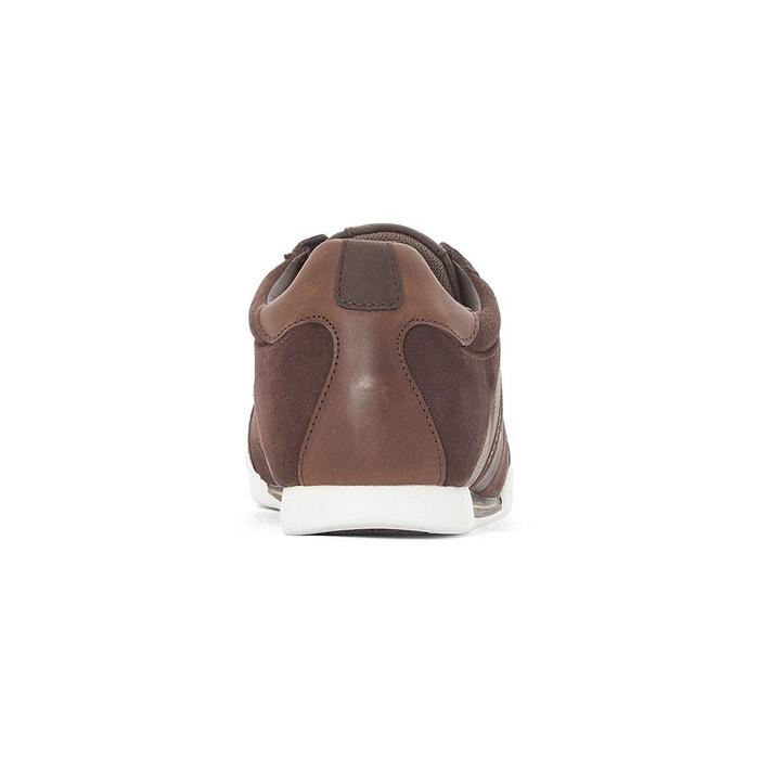 Baskets cuir turlock1 marron Levis