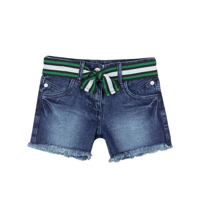 6b3fa0f1e4115 Short en jean stretch bleu Boboli | La Redoute