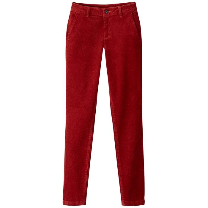 Image Pantalon chino velours La Redoute Collections