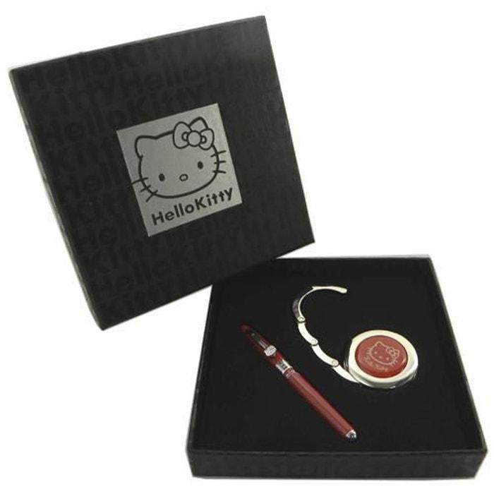 Parure stylo plume et accroche sac hello kitty rouge couleur unique Alpac | La Redoute Dernières Collections Vente En Ligne j9Adk