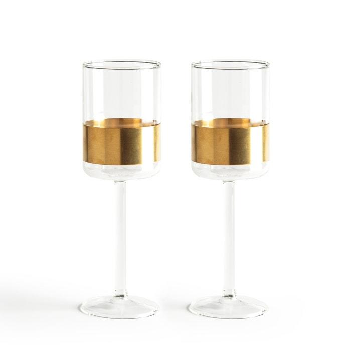 2 verres à vin rouge Cuivre Serax  AM.PM. image 0