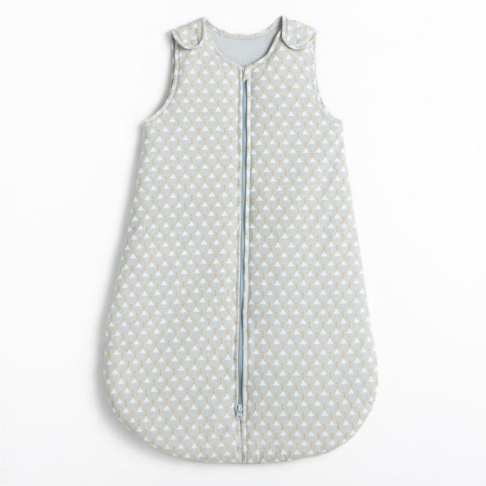 Saco de bebé quente, estampado triângulos, em algodão R mini