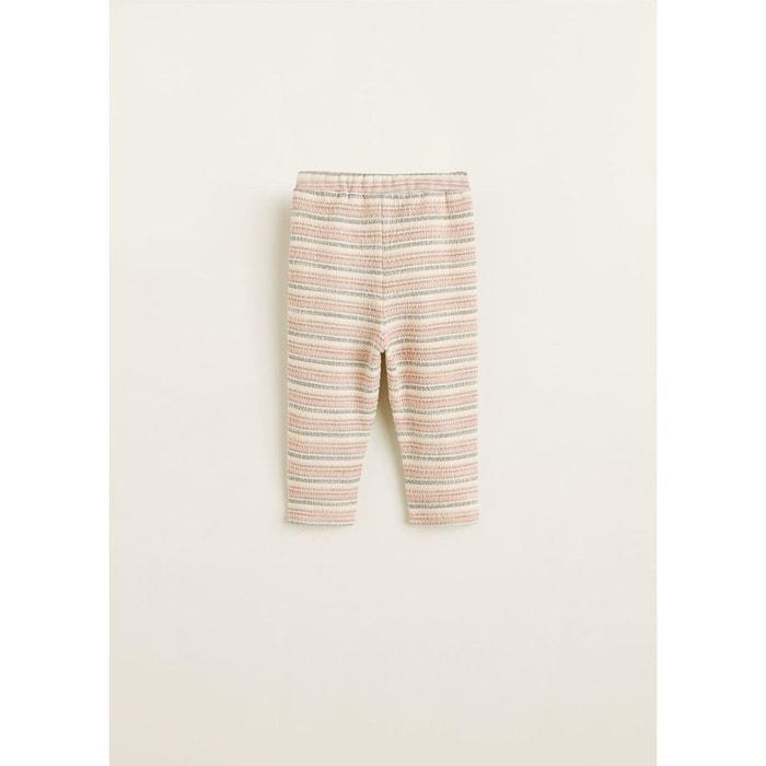 Mango Texturé Redoute Baby Blanc Jogging De La Pantalon 4EIp88 5cab18eb238