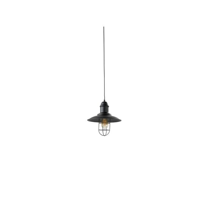 luminaire suspension noir herdasa la redoute. Black Bedroom Furniture Sets. Home Design Ideas