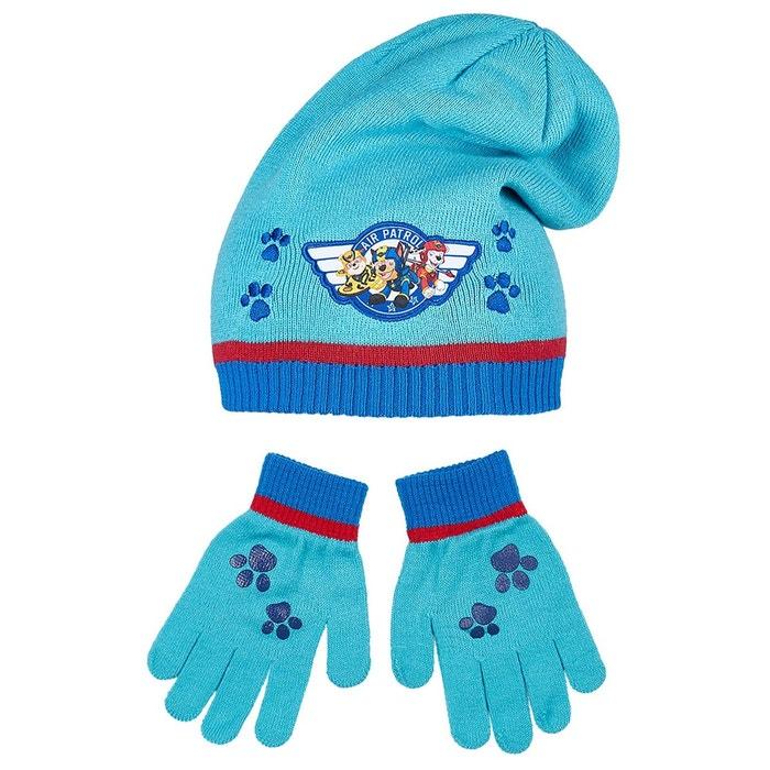 f9ce00f66c5f1 Pat` patrouille ensemble 2 pièces : bonnet et gants garçon bleu Pat  Patrouille | La Redoute Mobile