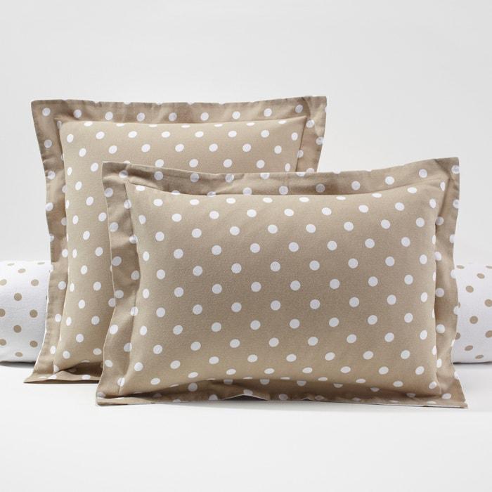 Imagen de Funda para almohada de franela estampada, Clarisse La Redoute Interieurs