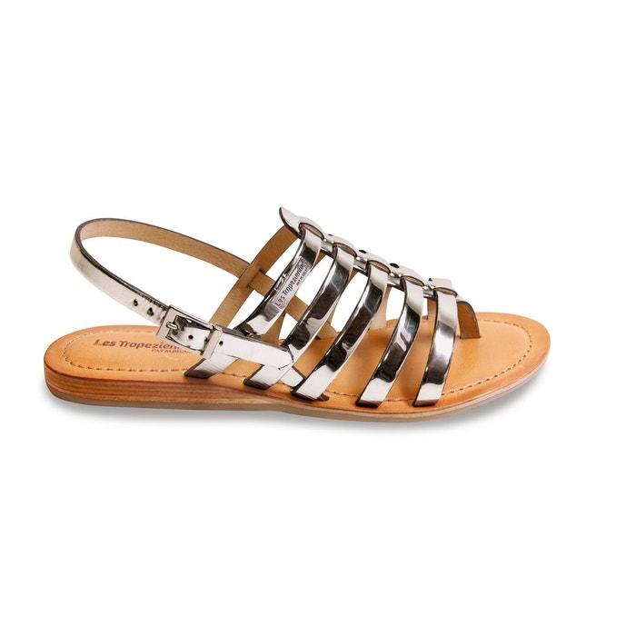 Sandales entre-doigts Hemir, Etain