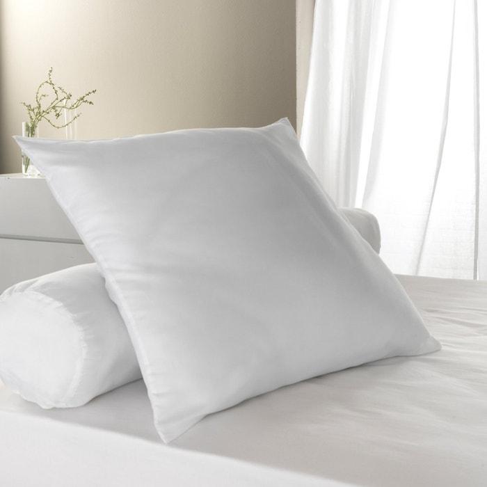 oreiller ferme synth tique blanc les petits prix la redoute. Black Bedroom Furniture Sets. Home Design Ideas
