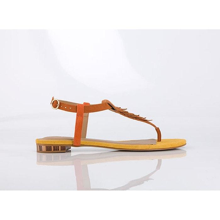 Sandales cuir brad camel Mellow Yellow Magasin De Liquidation aNqVI