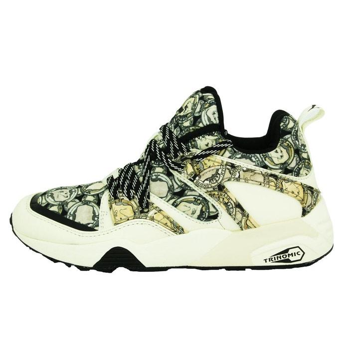 Puma blaze og x swash fg chaussures mode sneakers unisexe noir trinomic noir Puma