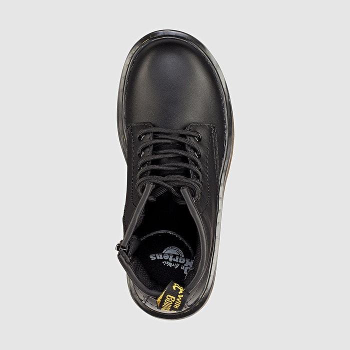 Boots cuir noir Dr Martens