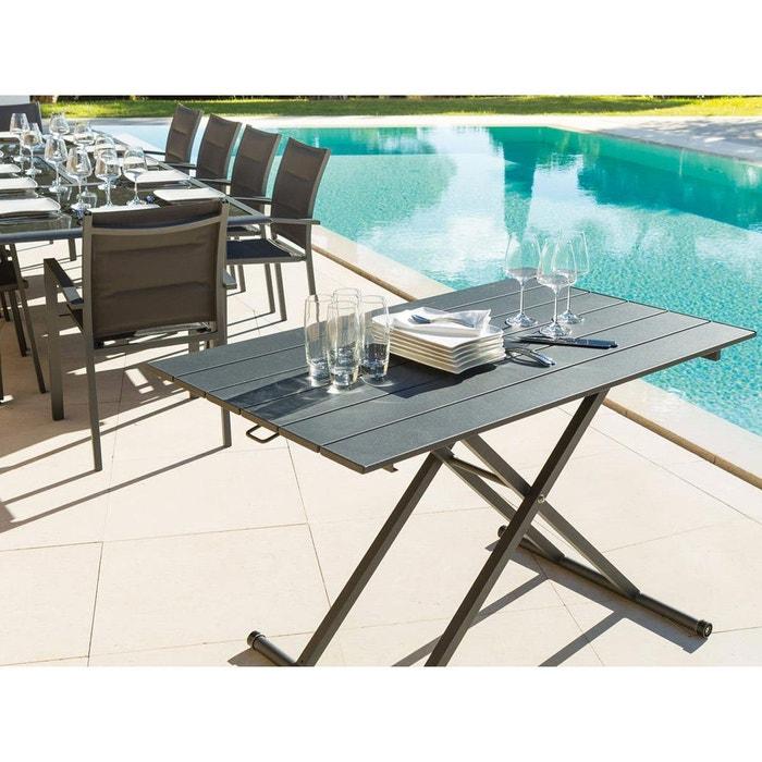 table basse v nezia hauteur r glable couleur unique hesperide la redoute. Black Bedroom Furniture Sets. Home Design Ideas