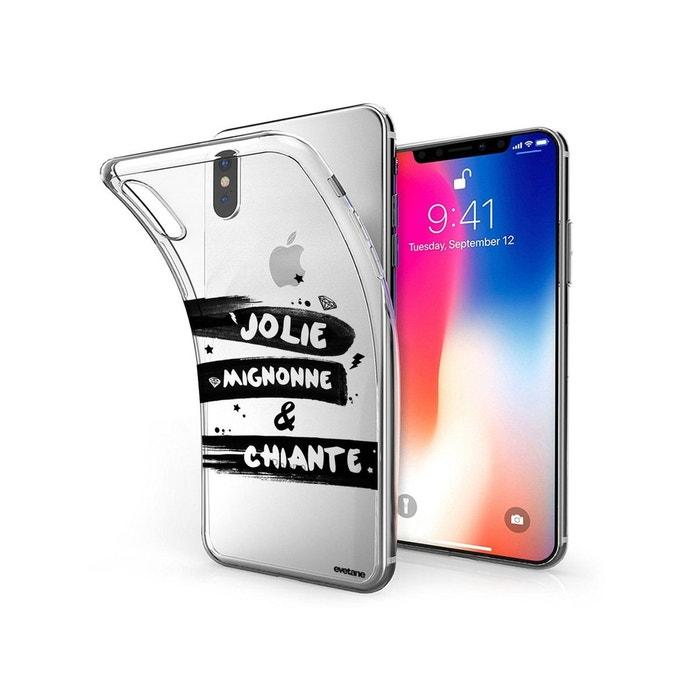 coque iphone x silicone mignone