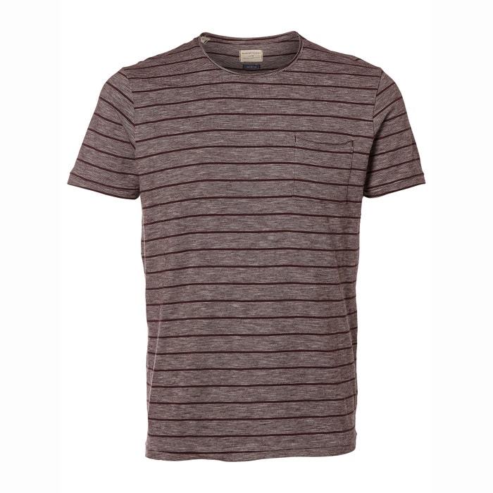 Gestreept T-shirt met ronde hals  SELECTED image 0