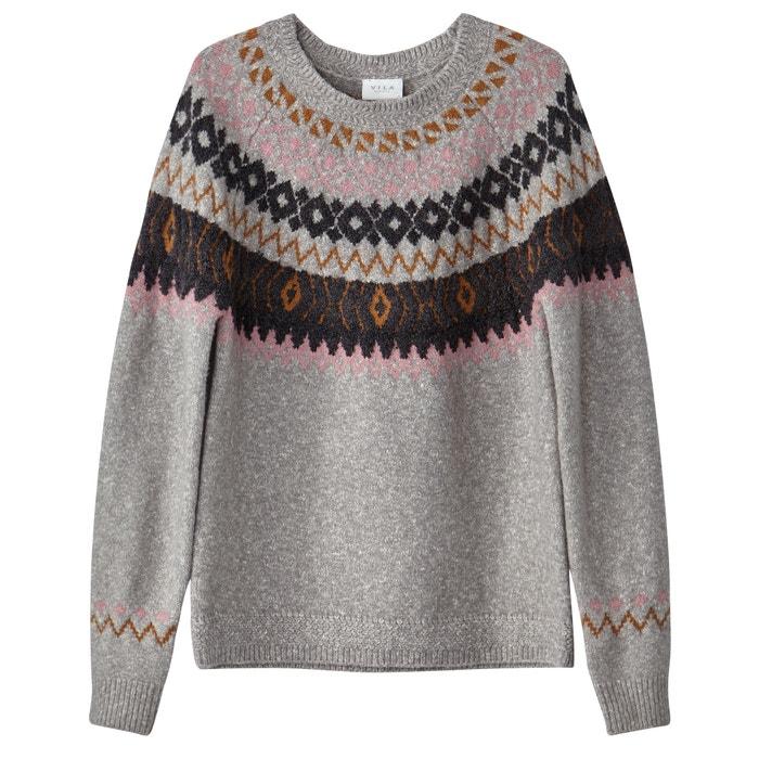 Round Neck, Fine-Knit Sweater  VILA image 0