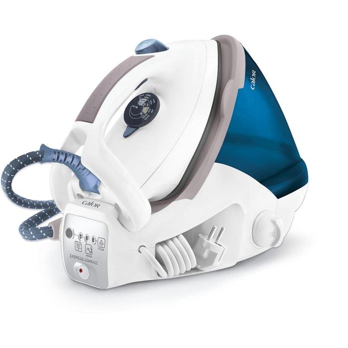 centrale vapeur express compact gv7053co blanc bleu calor la redoute. Black Bedroom Furniture Sets. Home Design Ideas