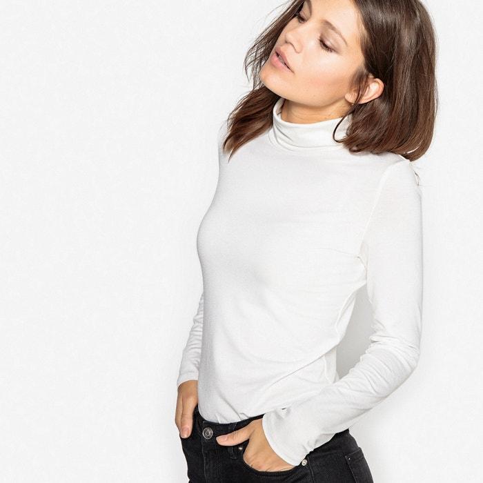 Image T-shirt collo a dolcevita, tinta unita La Redoute Collections