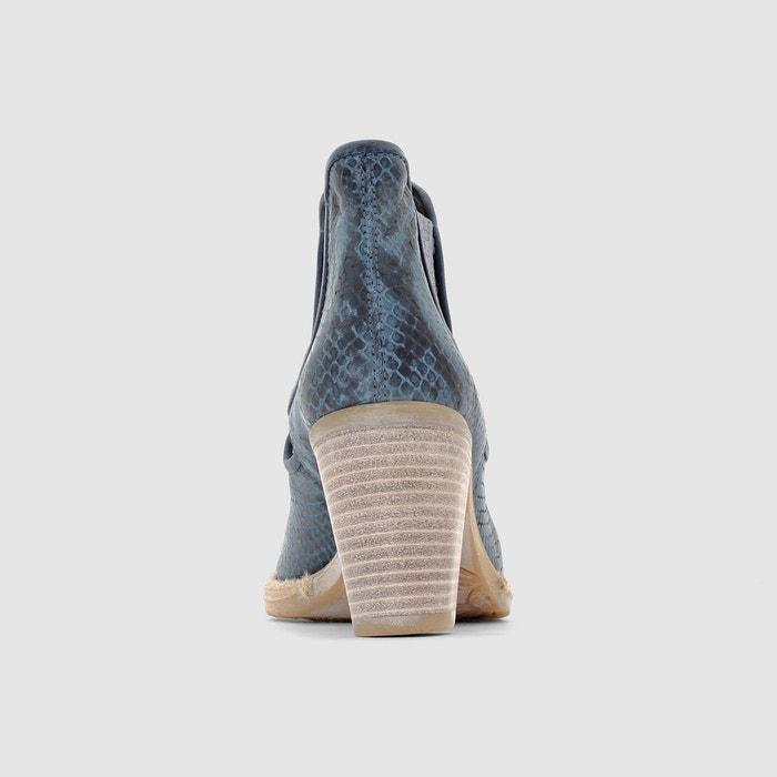 Mjus marcella2 bleu/serpent Mjus